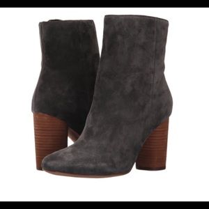 Sam Edelman Corra Ankle Boot - Grey Suede